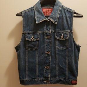 🆕️Guess Jean Vest